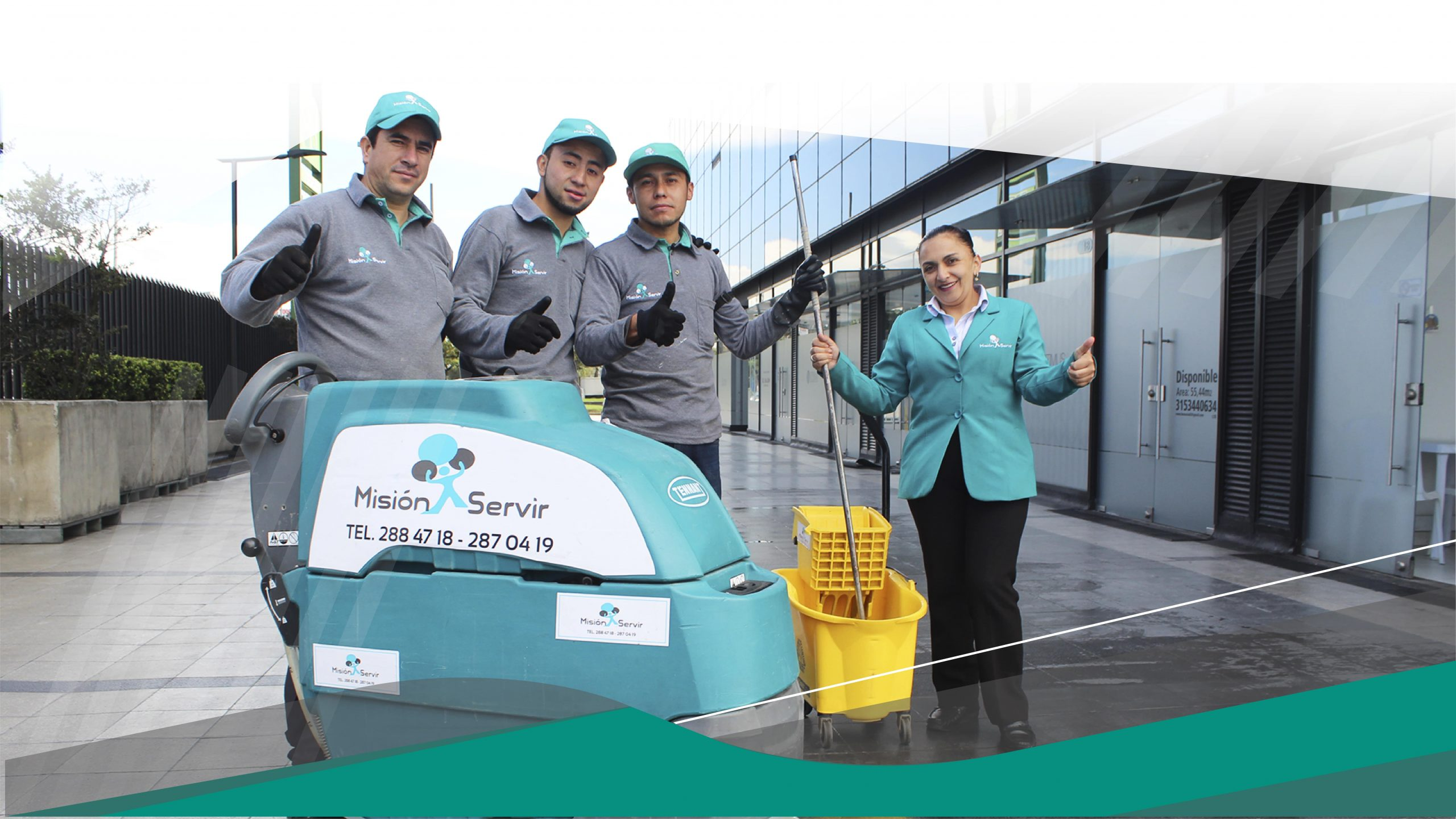 informar sobre empresas de aseo en Bogotá